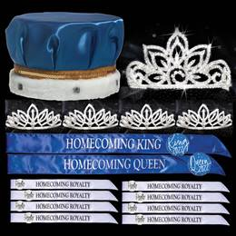 Homecoming Coronation Set with Buttons - Falling Star/Toni