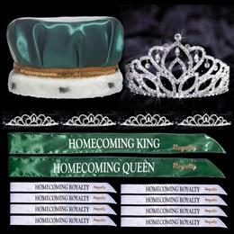 Homecoming Coronation Set with Pins - Mirabella/Sissy
