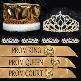 Royal Shine Prom Coronation Set