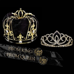 Supreme Sovereign Prom Royalty Set