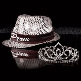 Light-up Fedora and Sasha Tiara Set