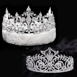 Elsa Tiara and Crown Set - Fleur-de-Lis