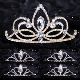 Queen and Court Tiara Set - Ariana and Black Vicky