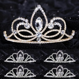 Queen and Court Tiara Set - Ariana and Kayla