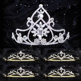 Queen and Court Tiara Set - Kate and Gold Alisa