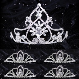 Queen and Court Tiara Set - Kate and Kayla