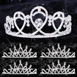 Queen and Court Tiara Set - Kendall and Bobbi