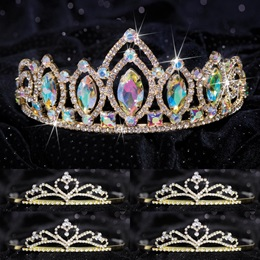 Queen and Court Tiara Set - Meghan and Gold Alisa