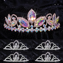 Queen and Court Tiara Set - Taylor and Kayla