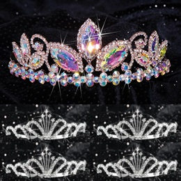 Queen and Court Tiara Set - Taylor and Emme