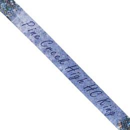 Custom Sash - Silver Sparkle