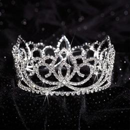 Sasha Full-crown Tiara