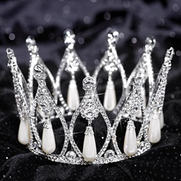 Grace Full Crown Tiara