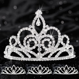 Queen and Court Tiara Set - Sutton and Armani