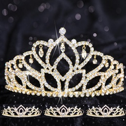 Tiara Set - Gold Mirabella Queen and Gold Kiley Court