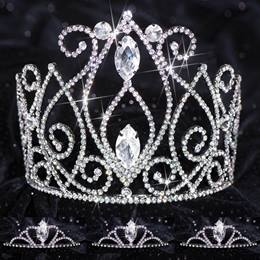 Queen and Court Tiara Set - Black Veronica and Vicky