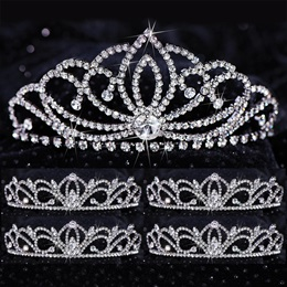 Five-piece Tiara Set - Emily Queen and Leia Court