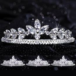 Four-piece Tiara Set - Evangeline Queen and Agatha Court