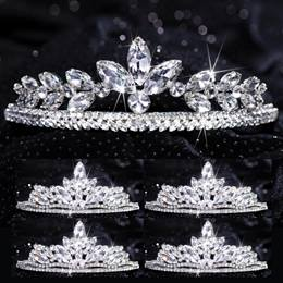 Five-piece Tiara Set - Evangeline Queen and Agatha Court