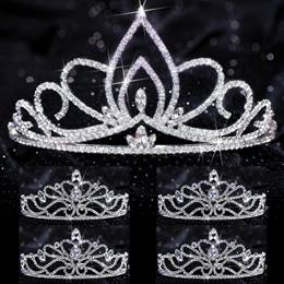 Five-piece Tiara Set - Willa Queen and Ramona Court