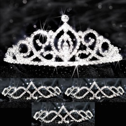 Four-piece Tiara Set - Cameo Perfect Queen and Kyla Court