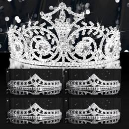 Tiara Set - Elsa Queen and Cleo Court