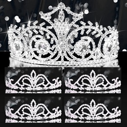 Tiara Set - Elsa Queen and Arilda Court