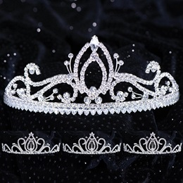 Four-piece Tiara Set - Gianna Queen and Serenity Court