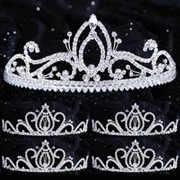 Five-piece Tiara Set - Gianna Queen and Serenity Court