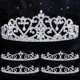Five-piece Tiara Set - Cora Queen and Suzette Court