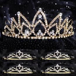 Tiara Set - Hazel Queen and Gold Alisa Court