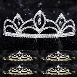 Tiara Set - Luna Queen and Gold Alisa Court