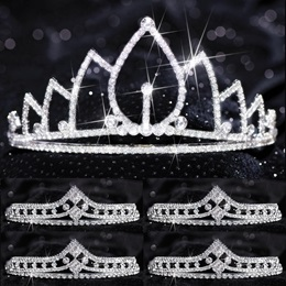 Tiara Set - Michelle Queen and Cleo Court