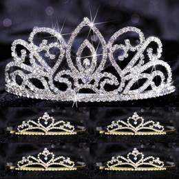 Tiara Set - Adele Queen and Gold Alisa Court