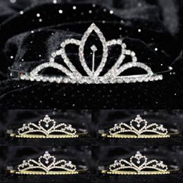 Tiara Set - Chelsey Queen and Gold Alisa Court