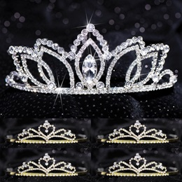 Tiara Set - Shawnessy Queen and Gold Alisa Court