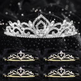 Tiara Set - Kiley Queen and Gold Alisa Court