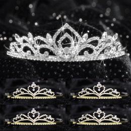 Tiara Set - Kiley Queen and Gold Alisa Court