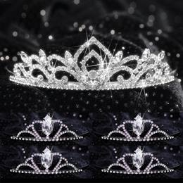 Tiara Set - Kiley Queen and Black Metal Vicky Court