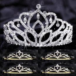 Tiara Set - Mirabella Queen and Gold Alisa Court