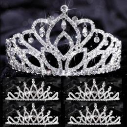 Tiara Set - Mirabella Queen and Bobbi Court