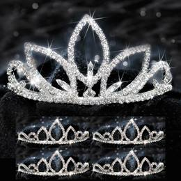 Five-piece Tiara Set - Natalia Queen and Saba Court