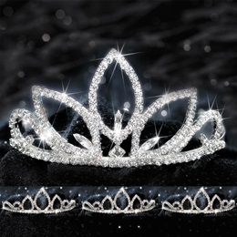 Four Piece Tiara Set - Natalia Queen and Saba Court