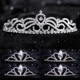 Tiara Set - Ruby Queen and Black Vicky Court