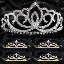Tiara Set - Sasha Queen and Gold Alisa Court