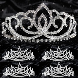 Tiara Set - Sasha Queen and Amara Court