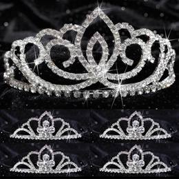 Tiara Set - Sasha Queen and Four Kayla Court