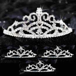 Four-piece Tiara Set - Titania Queen and Alisa Court