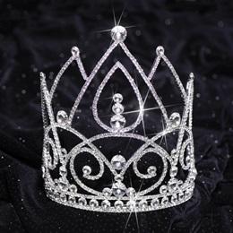 Silver Lexie Majestic Tiara