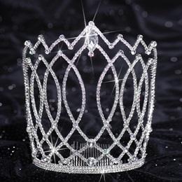 Silver Naydia Majestic Tiara